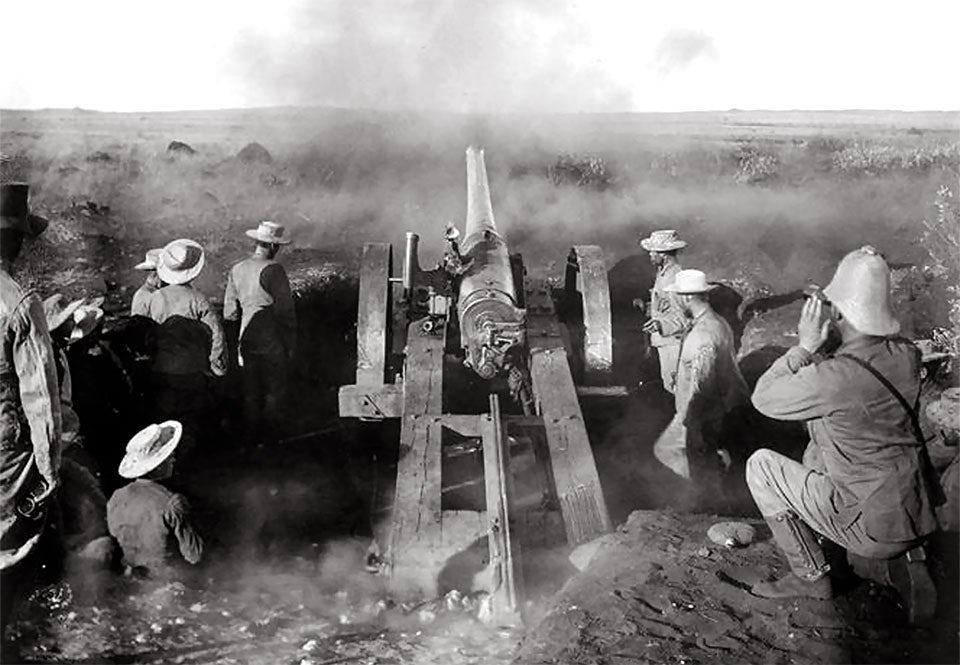 Brittiska trupper under andra boerkriget.