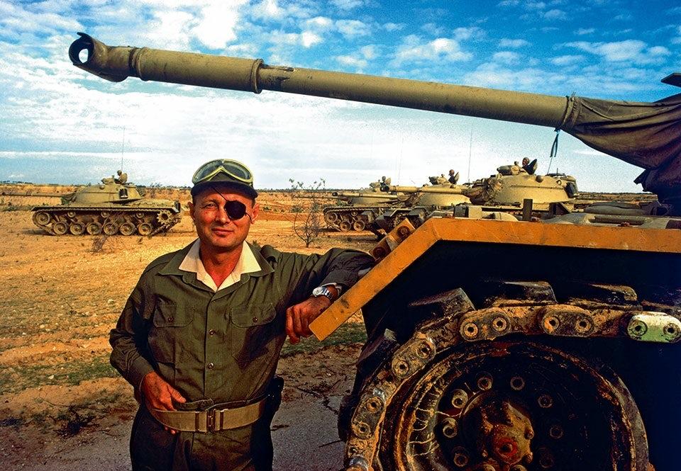 moshe dayan sexdagarskriget stridsvagn m48 patton 1967