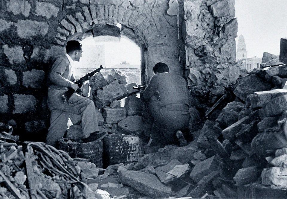 haganah soldater jerusalem 1948
