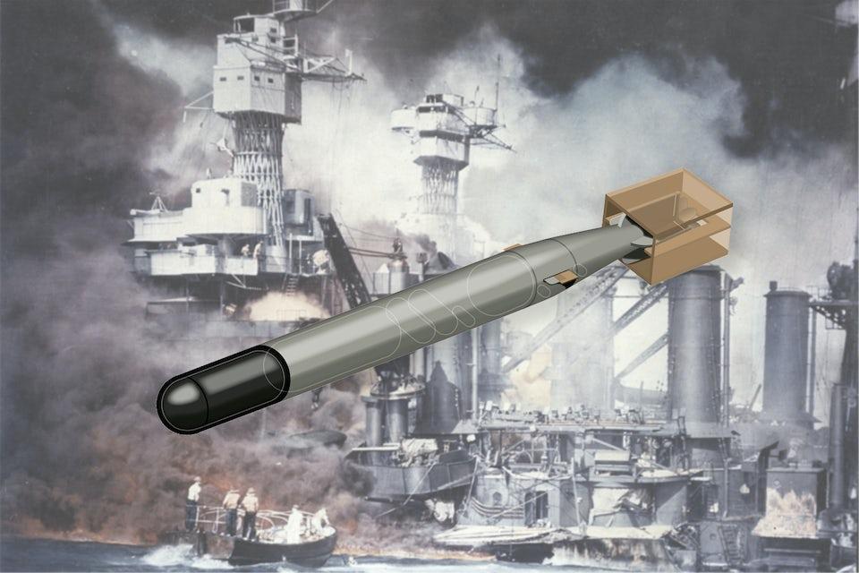 Japanerna använde Typ 91 vid anfallet mot Pearl Harbor.