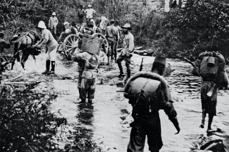 congo belge campagne 1918