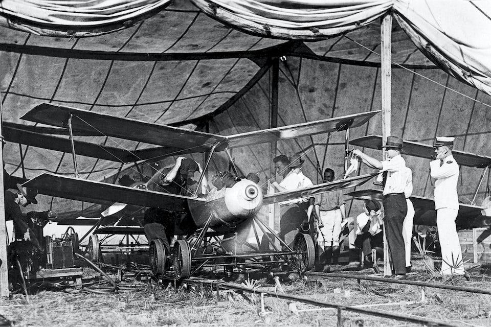 Drönaren Kettering Bug var ett amerikanskt experiment under första världskriget.