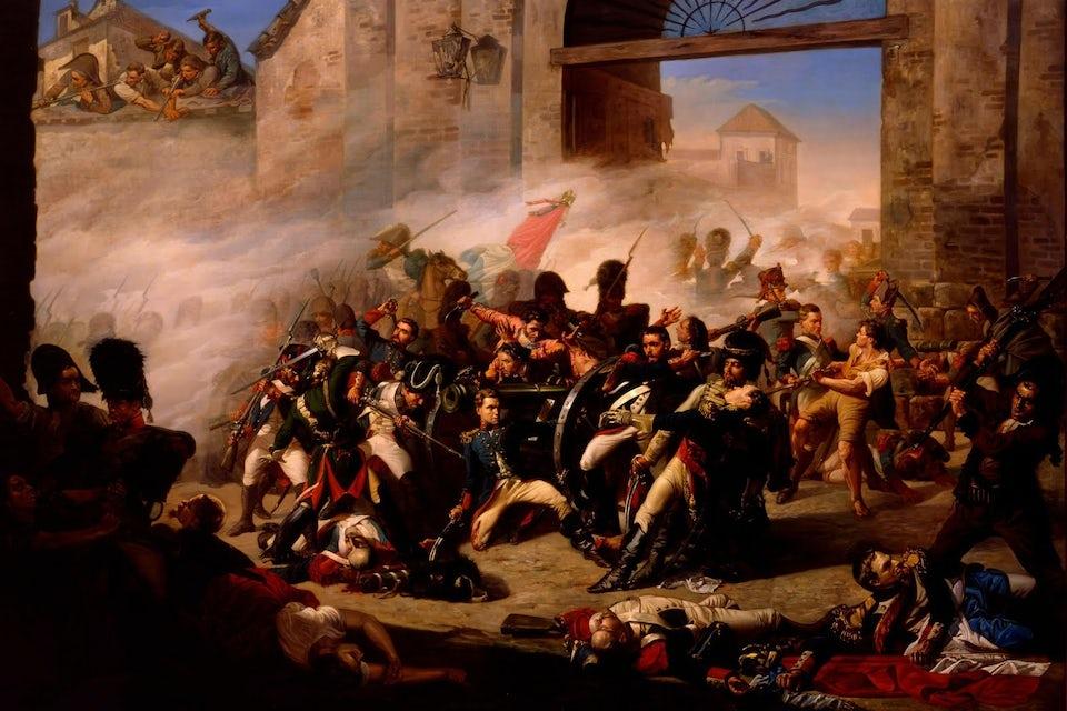 Mexikanska frihetskriget 1811, slaget vid Calderon.