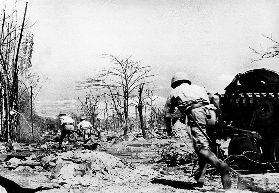 Japanska infanterister